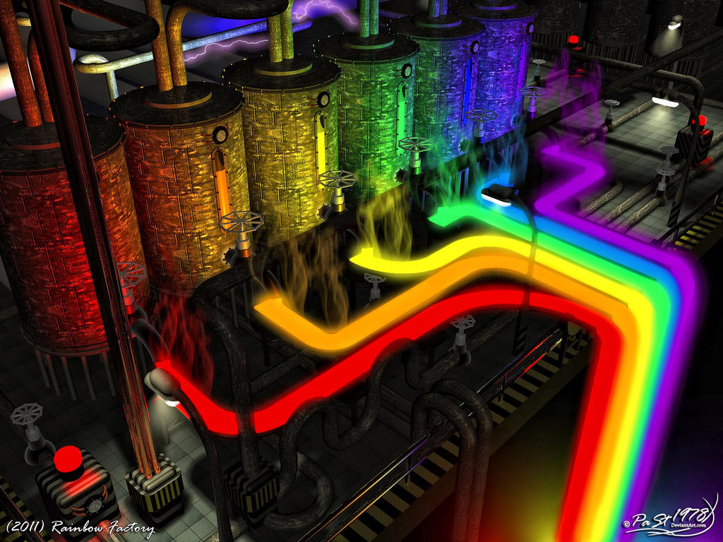 Rainbow Factory By PaSt1978 On DeviantArt