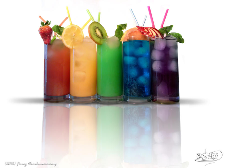 Fancy Drinks mirroring by PaSt1978 on DeviantArt