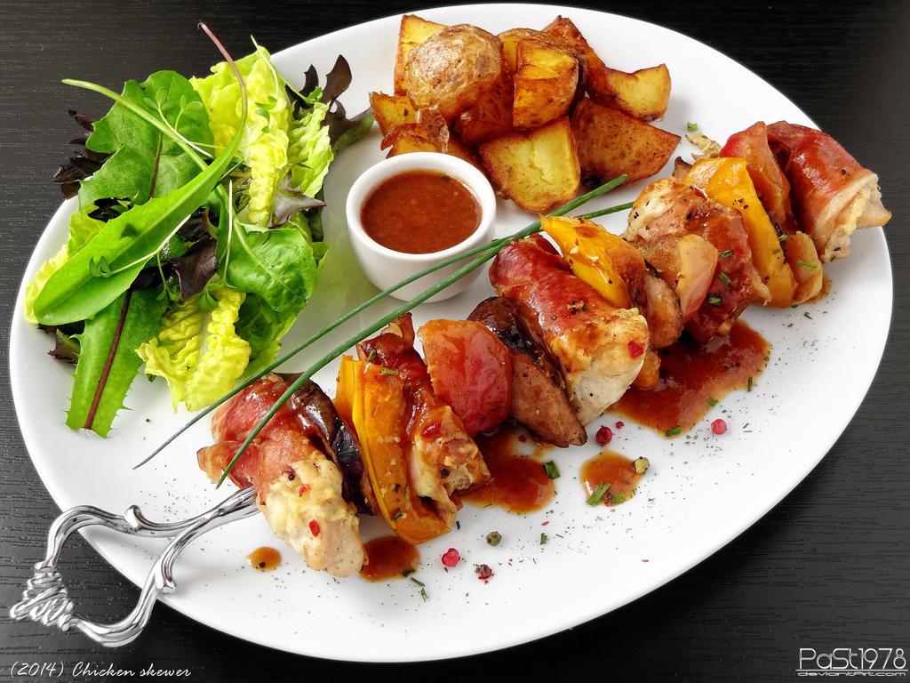 Chicken skewer by PaSt1978