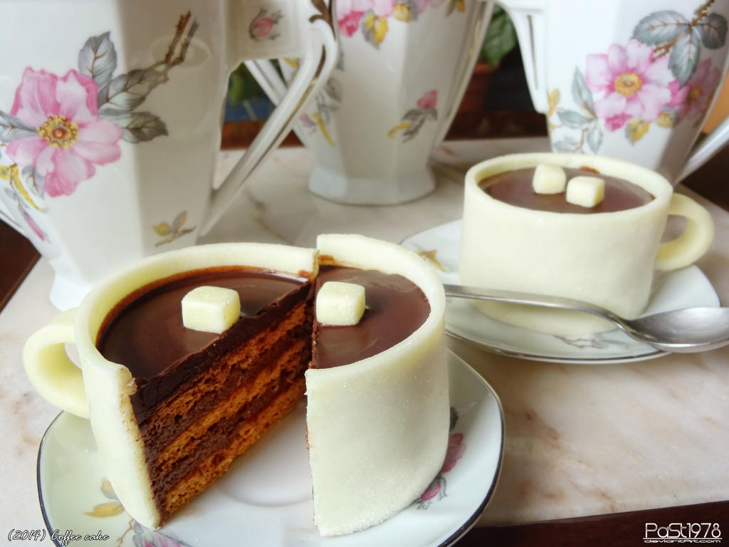 Cup Shaped Cake