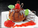 One minute chocolate cake