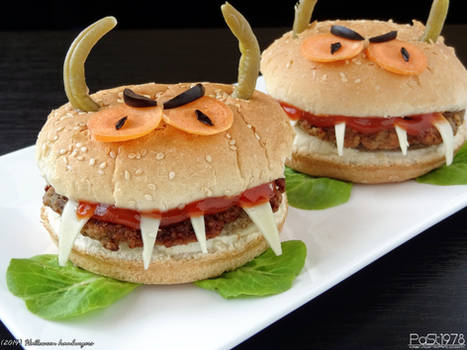 Halloween Hamburgers.Halloween Hamburgers By Past1978 On Deviantart