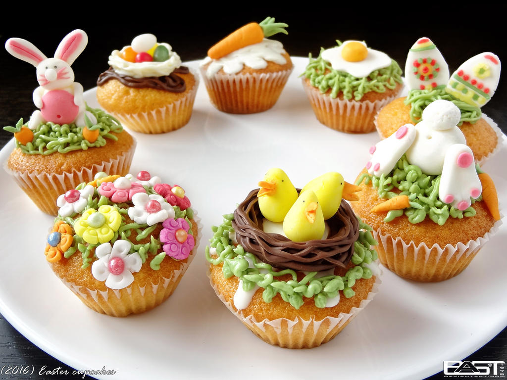 Easter Cupcakes by PaSt1978