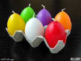 Wax Eggs by PaSt1978
