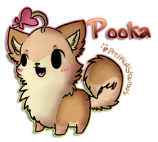 ::Pooka(chibi Commish):: by PrePAWSterous