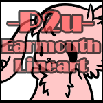 Pay-to-Use(earmouth-Lineart) by PrePAWSterous
