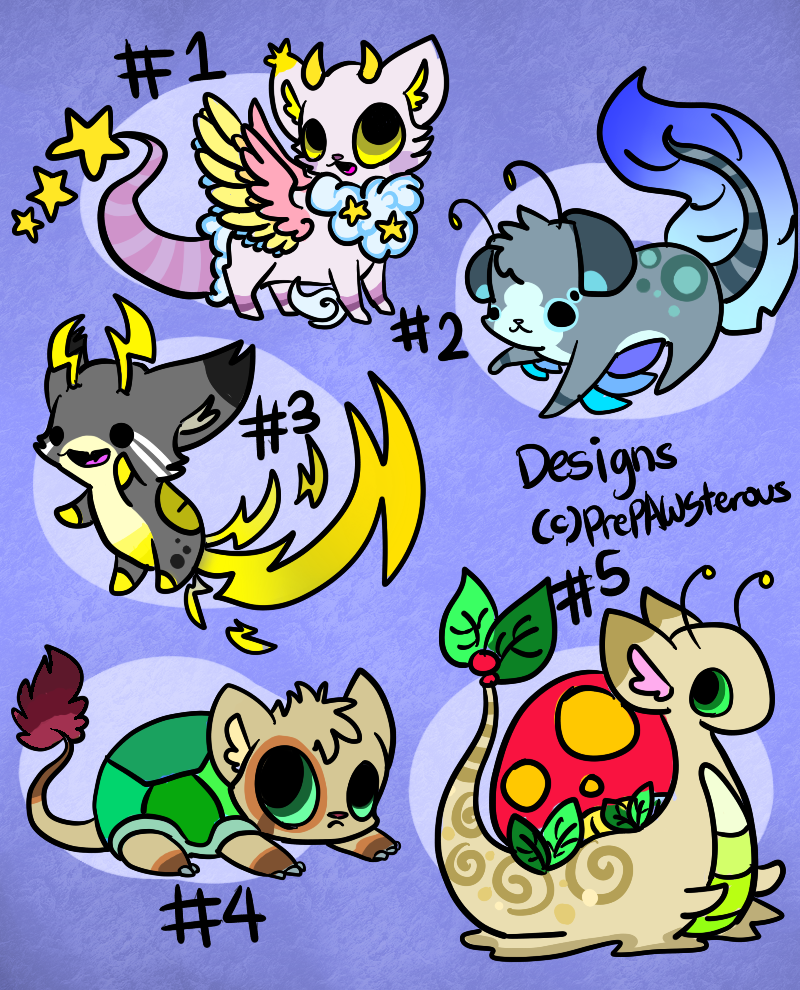 :Designs for Auction(closed) by PrePAWSterous