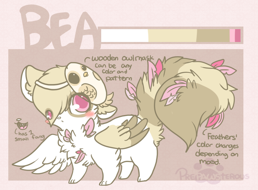 .:Bea Reference Sheet:. by PrePAWSterous