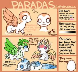 :Paradas(open species): by PrePAWSterous