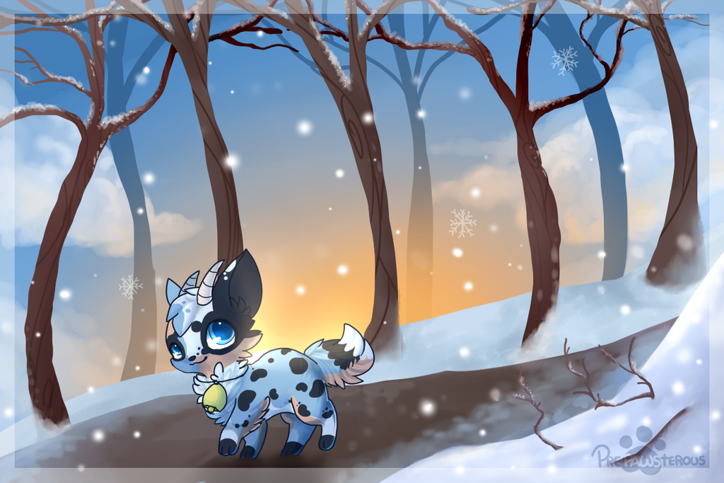 :Winter Stroll: by PrePAWSterous
