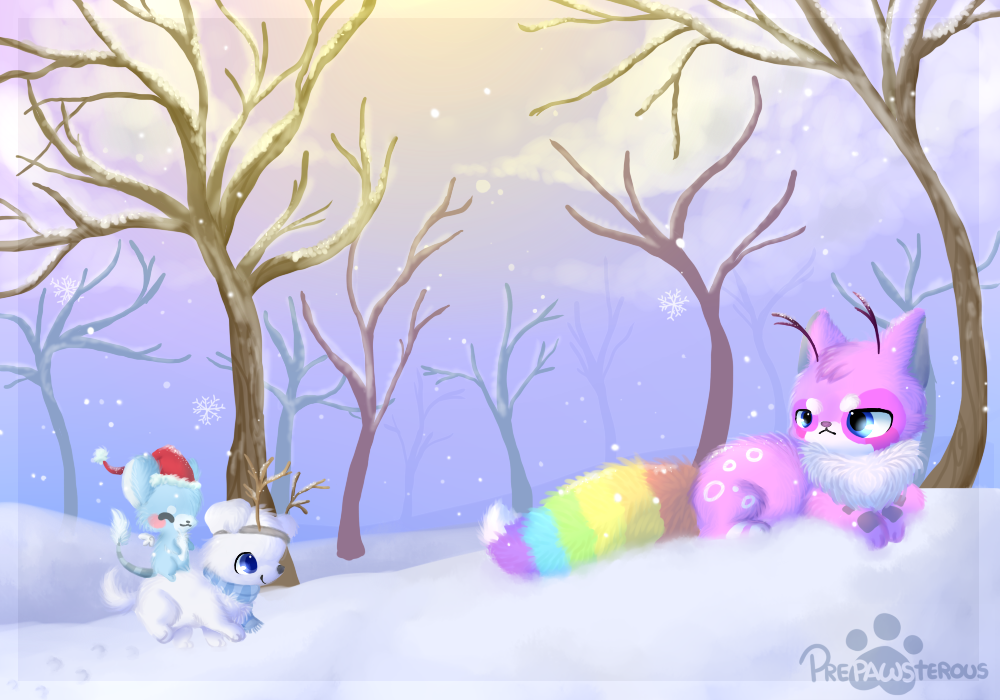 :Snowy: by PrePAWSterous