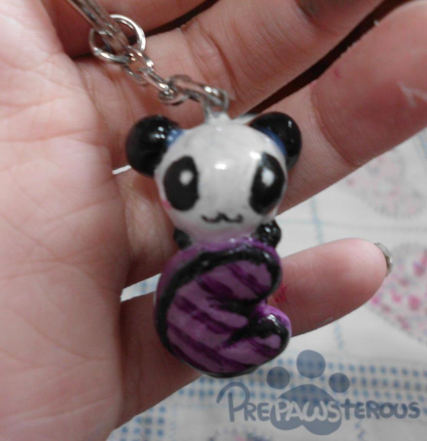:Panda Keychain: by PrePAWSterous