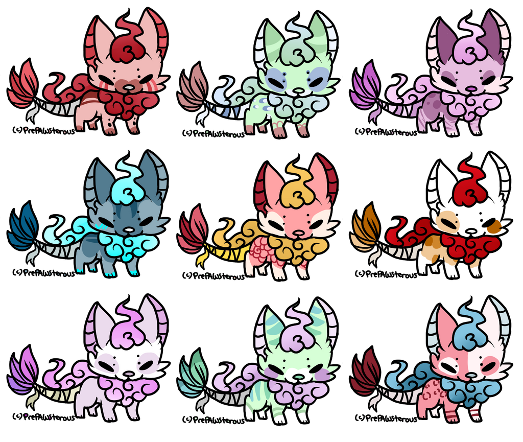 :100 points adoptables(open): by PrePAWSterous