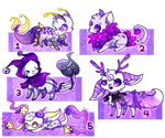 :Magical Spacethemed Designs for Auction(closed):