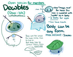 :Dewbles(Fox Pond Subspecies) Guide:
