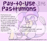 :Pay-To-Use Pastrymons(30 points):