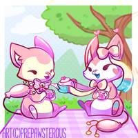 :Won't You Join Us for Some Tea?: by PrePAWSterous
