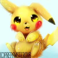 :Pikachu(speedpaint available): by PrePAWSterous