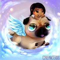 :A Pug Ride: by PrePAWSterous