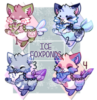 :Ice Foxponds for Auction- No1 left(8 hrs left): by PrePAWSterous