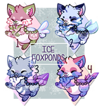 :Ice Foxponds for Auction- No1 left(8 hrs left):