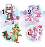 :Pokemon SW/SH Inspired Designs(closed):