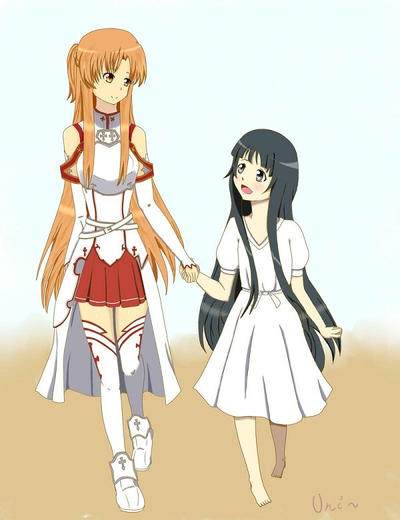 Yui asuna and kirito 124956 high quality resolution pictures