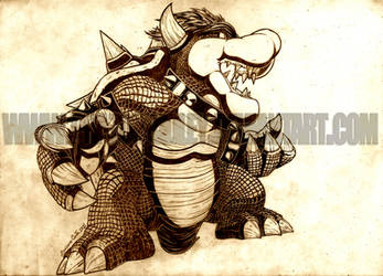 SSBT- Bowser by PhazonRidley