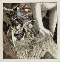 Mononoke Hime by Asfodelo