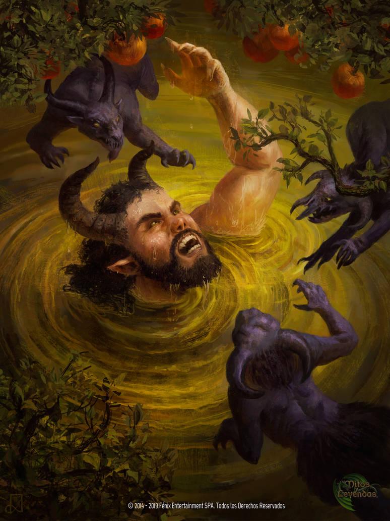 Resultado de imagem para o mito de tântalo