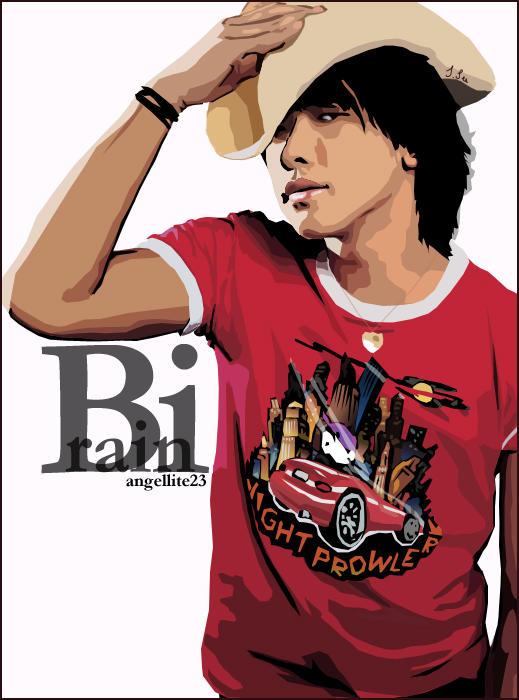 Bi aka Rain by ang3l1ite23