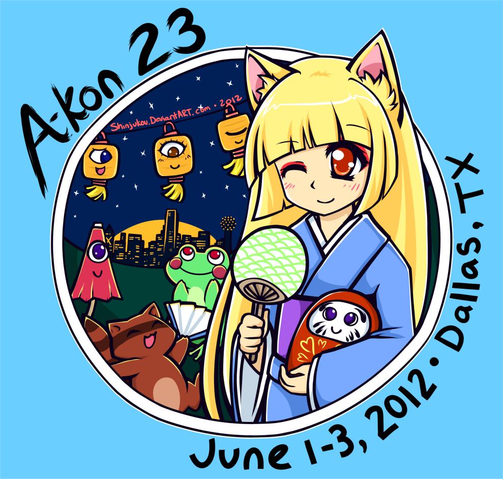 A-Kon 23 T-shirt Contest Entry by Shinjukou