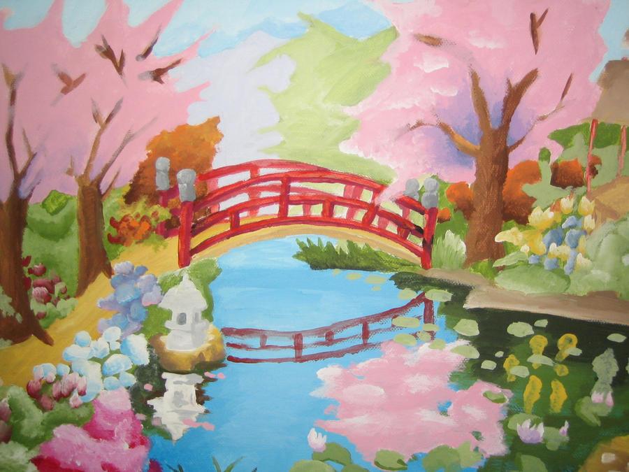 Sakura Garden By Sairentohane