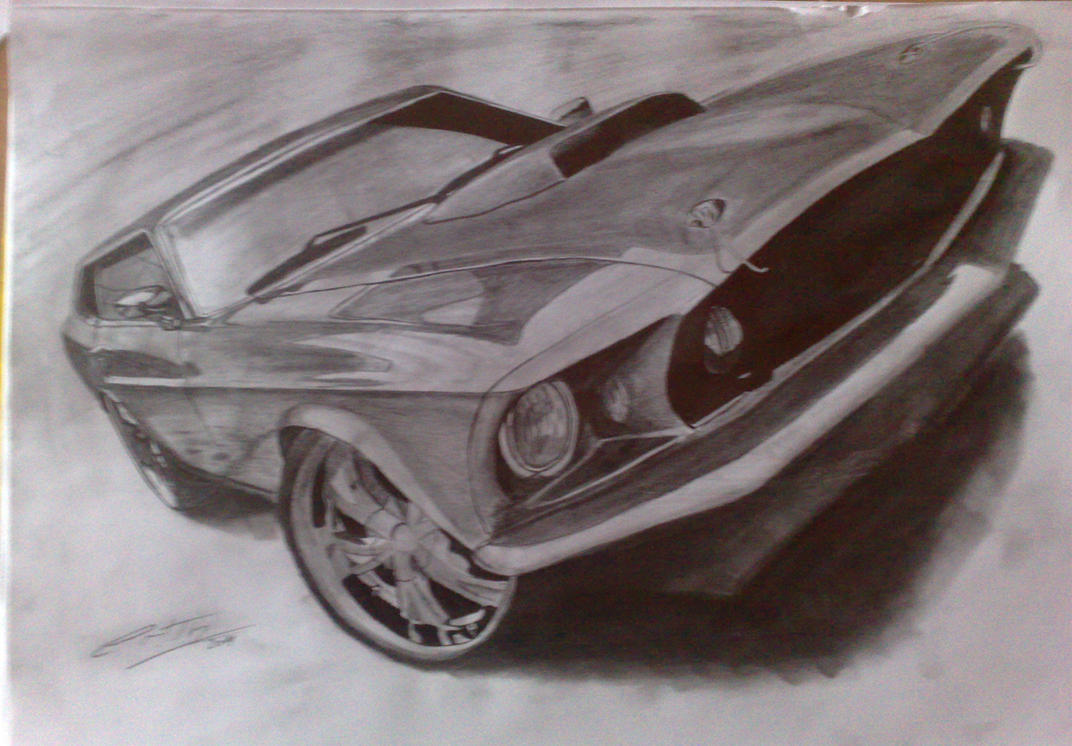 Ford Mustang 69' by
