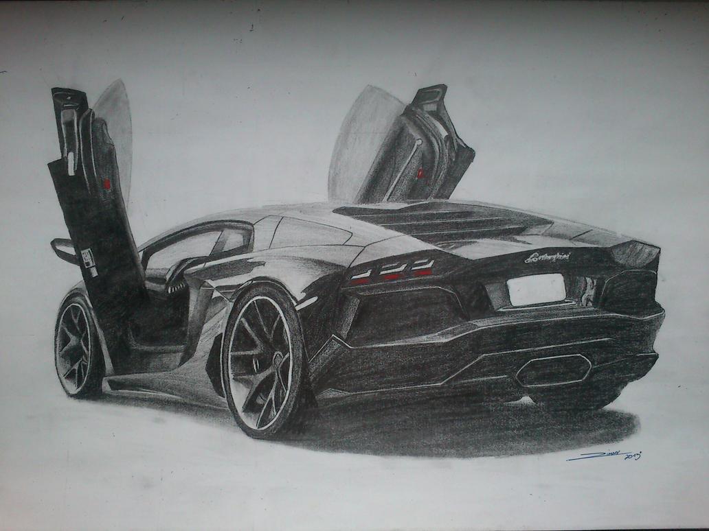 Lamborghini Aventador by erithdorPL on DeviantArt