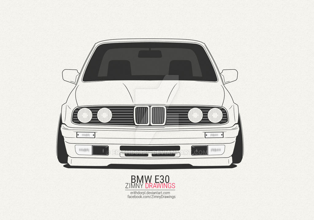Bmw E30 By Erithdorpl On Deviantart