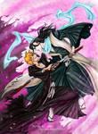 Ichigo and Byakuya