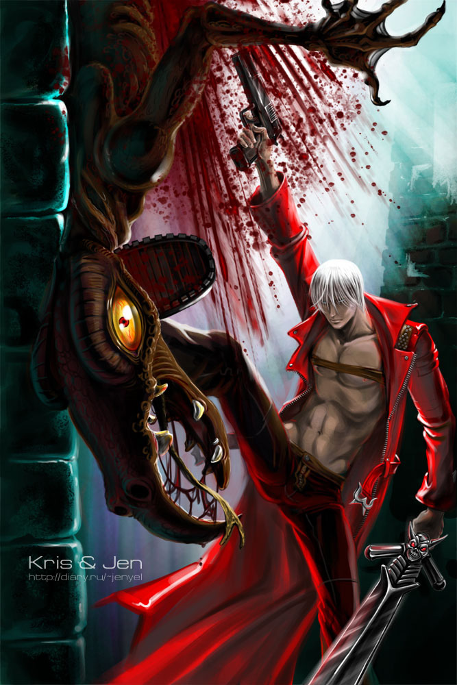Devil may cry dante by jen and kris on deviantart devil may cry voltagebd Gallery