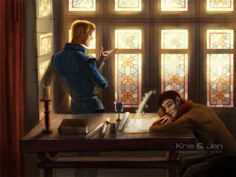 Merlin. Letter