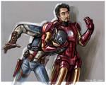 Steve and Tony.
