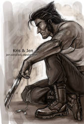 Wolverine. by jen-and-kris