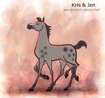 pleased Sleipnir.animation by jen-and-kris