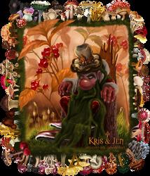 Mushroom deity. by jen-and-kris