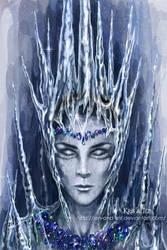 Lady winter. by jen-and-kris