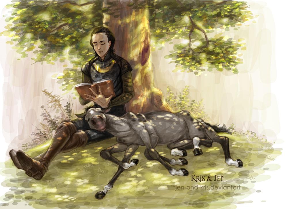 Tales for Sleipnir by jen-and-kris