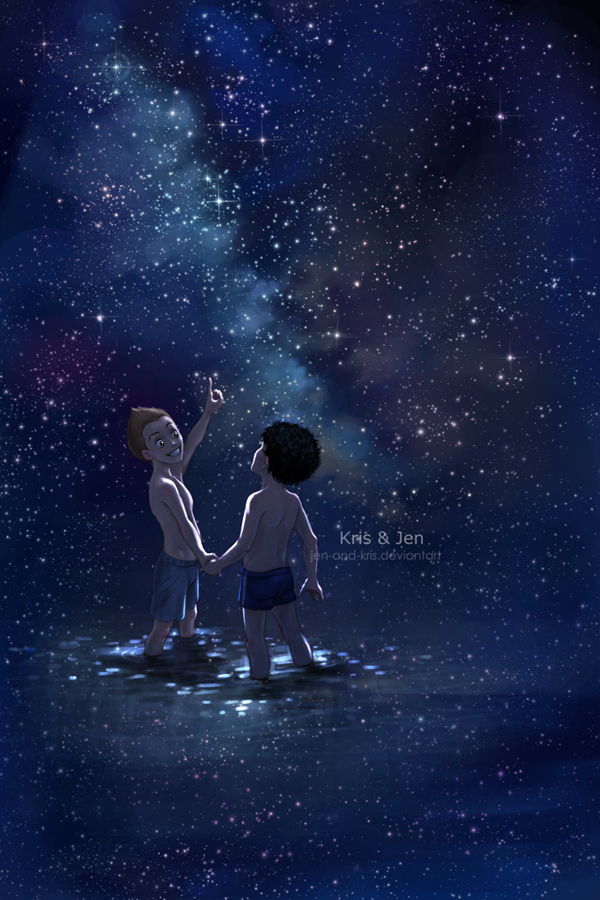 We Are In Space Brother By Jen And Kris