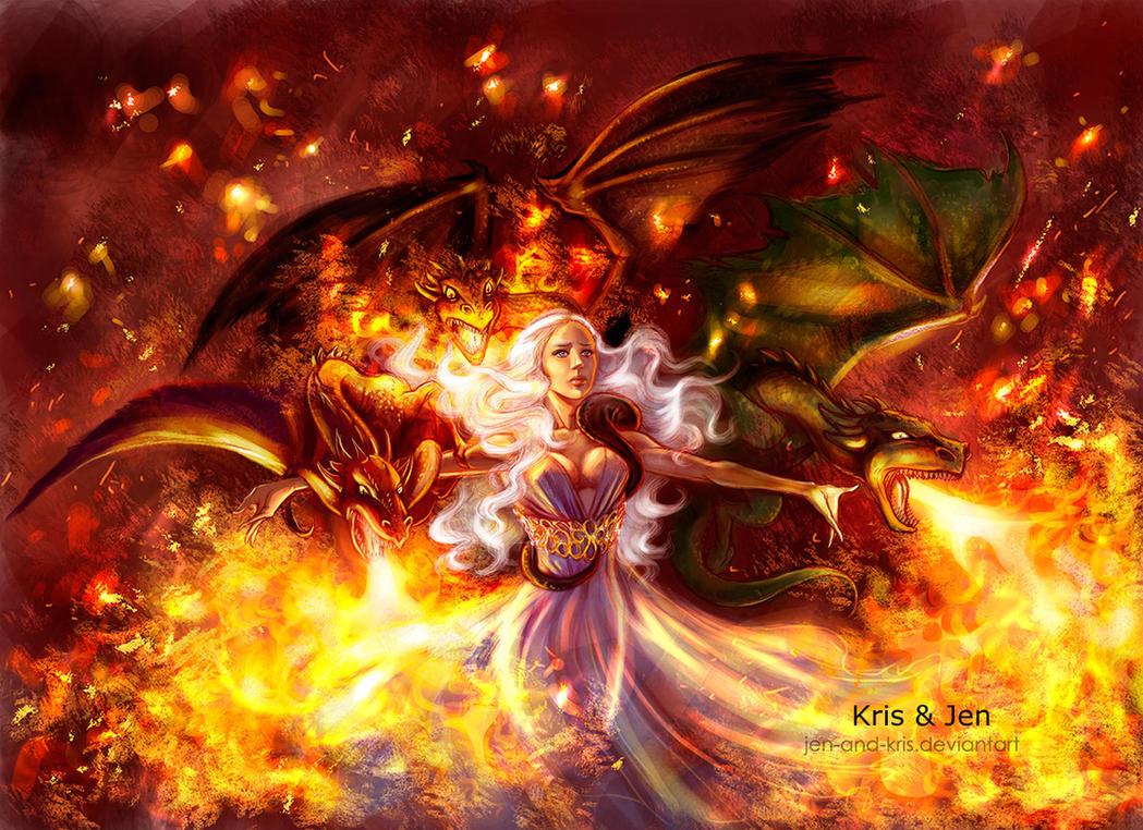 Daenerys by jen-and-kris