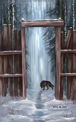 Lone wolf by jen-and-kris