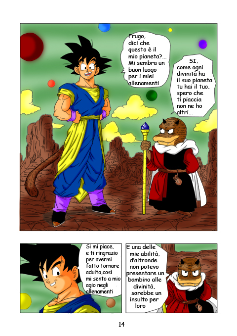 Dragon ball ex 14 by RAGOH on DeviantArt
