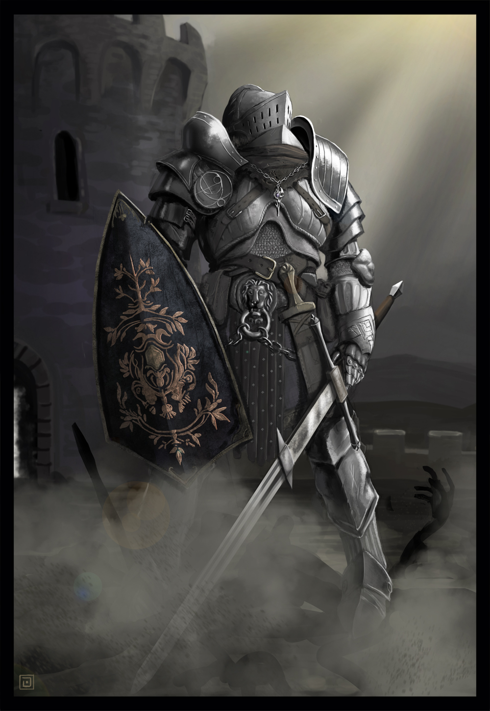 DARK SOULS by Kaffeebohnson